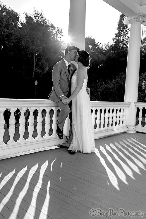 Jennifer Werminski and Derek Smith wedding at Dunmuir Hellman House in Oakland CA, Saturday Oct. 20, 2012..Photo Brian Baer