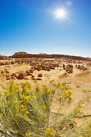 Overview of Goblin Valley State Park, Utah