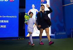 September 26, 2018 - Daria Gavrilova of Australia walks onto the court for her third-round match at the 2018 Dongfeng Motor Wuhan Open WTA Premier 5 tennis tournament (Credit Image: © AFP7 via ZUMA Wire)