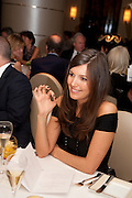AMANDA SHEPPARD, Graydon Carter hosts a dinner to celebrate the reopening og the American Bar at the Savoy.  Savoy Hotel, Strand. London. 28 October 2010. -DO NOT ARCHIVE-© Copyright Photograph by Dafydd Jones. 248 Clapham Rd. London SW9 0PZ. Tel 0207 820 0771. www.dafjones.com.