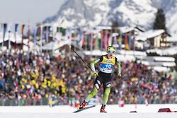February 21, 2019 - Seefeld In Tirol, AUSTRIA - 190221 Eva Urevc of Slovenia competes in women's cross-country skiing sprint qualification during the FIS Nordic World Ski Championships on February 21, 2019 in Seefeld in Tirol..Photo: Joel Marklund / BILDBYRÃ…N / kod JM / 87879 (Credit Image: © Joel Marklund/Bildbyran via ZUMA Press)