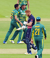 Cricket - 2017 Royal London One day Series<br /> England v South Africa, at Lords.<br /> <br /> A dejected Jonny Bairstow of England after getting out<br /> <br /> COLORSPORT/ANDREW COWIE
