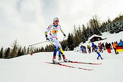 February 3, 2018 - Goms, SWITZERLAND - 180203 Alicia Persson of Sweden competes in the women's 4x3,3 km relay during the FIS Nordic Junior World Ski Championships on February 3, 2018 in Obergoms..Photo: Vegard Wivestad GrÂ¿tt / BILDBYRN / kod VG / 170098 (Credit Image: © Vegard Wivestad Gr¯Tt/Bildbyran via ZUMA Press)