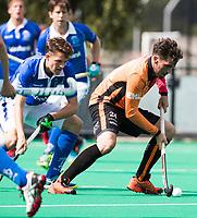 ROTTERDAM -  Robert van de Horst (Oranje-Rood)  tijdens de wedstrijd om de derde plaats tegen Oranje Rood bij de ABN AMRO cup. COPYRIGHT KOEN SUYK