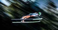29.01.2016, Casino Arena, Seefeld, AUT, FIS Weltcup Nordische Kombination, Seefeld Triple, Skisprung, Wertungssprung, im Bild Marjan Jelenko (SLO) // Marjan Jelenko of Slovenia competes during his Competition Jump of Skijumping of the FIS Nordic Combined World Cup Seefeld Triple at the Casino Arena in Seefeld, Austria on 2016/01/29. EXPA Pictures © 2016, PhotoCredit: EXPA/ JFK