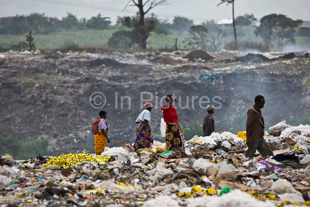One of the main dumpsites for Mombassa, Kenya. Many children can be found at the dumpsite collecting metals and plastic. Wema, a NGO organisation supporting vulnerable children, supports the local School and aims to remove the children from the dumpsite.  The school has 807 pupils and 16 teachers.