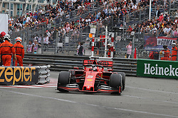 May 26, 2019 - Monte Carlo, Monaco - xa9; Photo4 / LaPresse.26/05/2019 Monte Carlo, Monaco.Sport .Grand Prix Formula One Monaco 2019.In the pic: Sebastian Vettel (GER) Scuderia Ferrari SF90 (Credit Image: © Photo4/Lapresse via ZUMA Press)