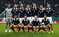 Football - Challenge Match -  Scotland vs. Australia<br /> <br /> Scotland team group during the Vauxhall International Challenge match at Easter Road, Edinburgh on August 15th 2012<br /> <br /> Ian MacNicol/Colorsport