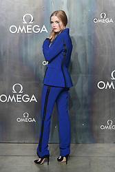 Ellie Bamber attending the Lost in Space event to celebrate the 60th anniversary of the OMEGA Speedmaster held in the Turbine Hall, Tate Modern, 25 Sumner Street, Bankside, London.
