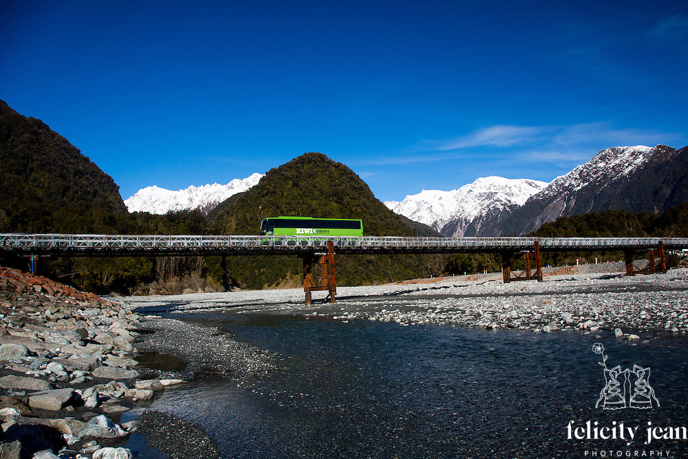 kiwi experience bus photos north and south island new zealand queenstown remarkable and franz josef west coast by coromandel photographer felicity jean photography fleaphotos Adventure tourism photography portfolio Felicity Jean Photography ( Fleaphotos)  New Zealand adventure tourism and travel photography based on the Coromandel