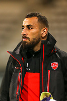 Medhy Guezoui during the Ligue 2 match between Paris Fc and Valenciennes at Stade Charlety on October 20, 2017 in Paris, France. (Photo by Anthony Massardi/Icon Sport )