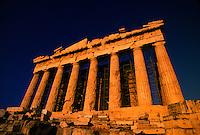 Parthenon, the Acropolis, Athens, Greece.