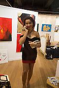 IMANNI DA SILVA, Lady  Sandra Bates and Jason Bradbury host 'Lust' a mixed exhibition. La Galleria. Pall Mall.  London 3 September 2013.