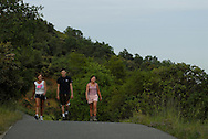 Redding's Sacramento River National Recreation Trail is part of Redding's growing trail system. Meandering over 9 miles along the banks of the beautiful Sacramento River, the wide, paved surface is popular for walking, jogging, roller blading and bicycle riding. Both this trail and the Sacramento Rail Trail have been designated by the United States Department of Interior as Natinoal Recreation trails. Access is available from Hilltop Drive, Caldwell Park, and the beautiful Sundial Bridge.