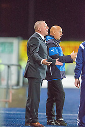 Rangers manager Ally McCoist. Falkirk 1 v 3 Rangers, Scottish League Cup game played 23/9/2014 at The Falkirk Stadium.