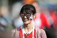 Football - 2018 FIFA World Cup - Group A: Russia vs. Saudi Arabia<br /> <br /> Fans are seen prior to the match at the Luzhniki Stadium, Moscow.<br /> <br /> COLORSPORT/IAN MACNICOL