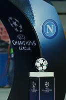 Pallone della Champions League a Napoli <br /> Napoli 26-09-2017 Stadio San Paolo<br /> Football Calcio UEFA Champions League 2017/2018<br /> Napoli - Feyenoord<br /> Group F<br /> Foto Cesare Purini / Insidefoto