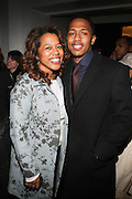 l to r: Danyell Smith and Nick Cannon at The Vibe Magazine Presents Vsessions Live! Hosted by the Fabulous Toccara featuring Hal Linton, Suai and Ron Browz held at Joe's Pub on February 25, 2009 in NYC