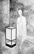 The Ghost of a priest From the book ' The story of the geisha girl ' by Taizo Fujimoto, Published in London by T. Werner Laurie