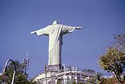 Christ the Redeemer statue, Rio de Janeiro, Brazil, South America 1962
