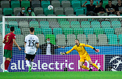 LJUBLJANA, SLOVENIA - JUNE 06: Diogo Costa of Portugal during the 2021 UEFA European Under-21 Championship Final match between Germany and Portugal at Stadion Stozice on June 06, 2021 in Ljubljana, Slovenia. Photo by Grega Valancic / Sportida