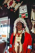 Gift shop in Santa Fe, New Mexico.