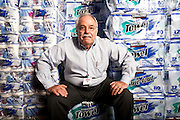 Jim Sinegal, CEO of Costco Wholesale, photographed by Brian Smale at Costco store Nepean, Ontario, For Fortune Magazine - 2006-03.