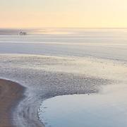 Morning light, Sandyhills Bay, Dumfries and Galloway, Scotland.