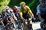 Geraint Thomas (GBR - Team Sky) during the 105th Tour de France 2018, Stage 16, Carcassonne - Bagneres de Luchon (218 km) on July 24th, 2018 - Photo Luca Bettini / BettiniPhoto / ProSportsImages / DPPI