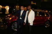 AMIR BOUSSEAU AND FRANK OBI, De Grisogono & Londino Car Rally  party. <br />Pal Zileri, Hans Crescent London, W1, 22 August. Launch of car rally which takes drivers through London, France, Switzerland and finally to Portofino .  -DO NOT ARCHIVE-© Copyright Photograph by Dafydd Jones. 248 Clapham Rd. London SW9 0PZ. Tel 0207 820 0771. www.dafjones.com.