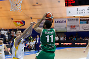Scrubb Thomas<br /> Betaland Capo d'Orlando - Sidigas Avellino <br /> Campionato Basket Lega A 2017-18 <br /> Capo d'Orlando 22/04/2018<br /> Foto Ciamillo-Castoria