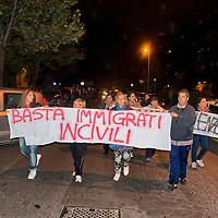 Roma Tor Sapienza, i residenti contro i migranti