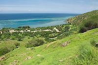 North coast of Timor-Leste (East Timor), east of Dili