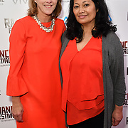 Lavonne O'Leary is a Project Manager and Ana de Lara - Good girls don't is a award-winning Filipina-Canadian director Nominated attends the Raindance Film Festival - VR Awards, London, UK. 6 October 2018.