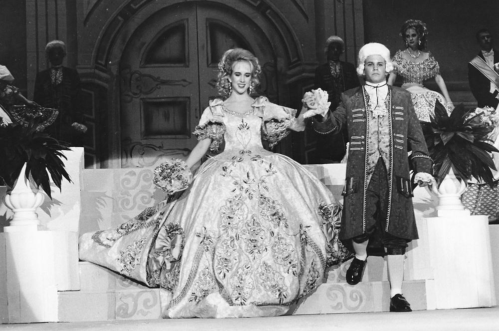 ©1993 Martha Washington Society pageant in Laredo, Texas Debutante ball.