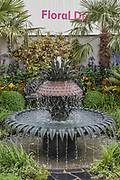 The Charleston Garden - The Hampton Court Flower Show, organised by the Royal Horticultural Society (RHS). In the grounds of the Hampton Court Palace, London.