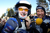 MOTORSPORT - WORLD RALLY CHAMPIONSHIP 2012 - RALLY SWEDEN / RALLYE DE SUEDE - 08 TO 12/02/2012 - KARLSTAD (SWE) - PHOTO : FRANCOIS BAUDIN /  DPPI -  LATVALA Jari-Matti / FORD FIESTA - WRC Ambiance / Portrait SOLBERG Petter / FORD FIESTA - WRC Ambiance / Portrait
