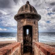 The El Morro 16th century fortress in Old San Juan, Puerto Rico.