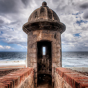 The El Morro 16th century fortress in Old San Juan, Puerto Rico.
