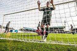 Raith Rovers Barry McKeown.<br /> Raith Rovers 0 v 0 Falkirk, Scottish Championship game played 27/9/2014 at Raith Rovers Stark Park.