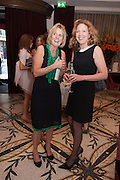 JULIET NICOLSON; JESSICA FELLOWES, Juliet Nicolson - book launch party for  her latest novel Abdication, about British society after the death of George V.  The Gallery at The Westbury, 37 Conduit Street, Mayfair, London, 12 June 2012