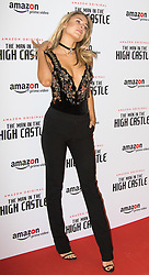 Curzon Bloomsbury, London, December 14th 2016. Celebrities attend the launch of Amazon Prime's European premiere for Season 2 of The Man In The High Castle. PICTURED: Kimberley Garner
