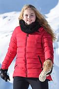 Fotosessie met de koninklijke familie in Lech /// Photoshoot with the Dutch royal family in Lech .<br /> <br /> Op de foto/ On the photo:  Prinses Amalia ///// Princess Amalia