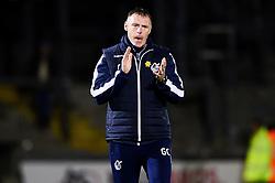 Bristol Rovers manager Graham Coughlan  - Mandatory by-line: Ryan Hiscott/JMP - 22/10/2019 - FOOTBALL - Memorial Stadium - Bristol, England - Bristol Rovers v Bolton Wanderers - Sky Bet League One