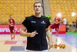 Zoran Dragic of Slovenia during friendly match between National teams of Slovenia and Latvia for Eurobasket 2013 on August 2, 2013 in Arena Zlatorog, Celje, Slovenia. (Photo by Vid Ponikvar / Sportida.com)