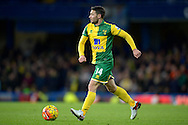 Wes Hoolahan of Norwich City in action. Barclays Premier league match, Chelsea v Norwich city at Stamford Bridge in London on Saturday 21st November 2015.<br /> pic by John Patrick Fletcher, Andrew Orchard sports photography.
