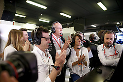 May 11, 2019 - Barcelona, Spain - Motorsports: FIA Formula One World Championship 2019, Grand Prix of Spain, ..Toto Wolff (AUT, Mercedes AMG Petronas Motorsport), Dr. Dieter Zetsche (GER, Chairman of the Board of Management of Daimler AG, Head of Mercedes-Benz Cars) with his family and wife Anne  (Credit Image: © Hoch Zwei via ZUMA Wire)