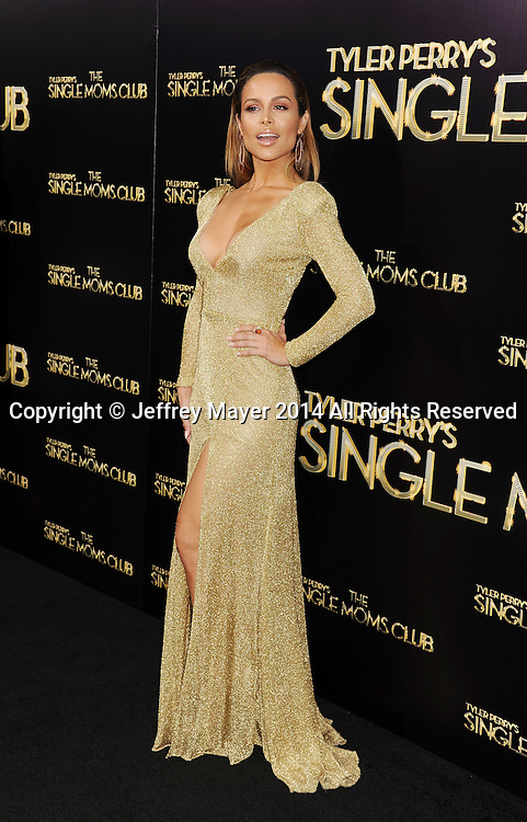 HOLLYWOOD, CA- MARCH 10: Actress Zulay Henao arrives at the Los Angeles premiere of Tyler Perry's 'The Single Moms Club' at the ArcLight Cinemas Cinerama Dome on March 10, 2014 in Hollywood, California.
