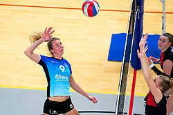 Marianne het Lam-Scholten of Zwolle in action during the first league match between Djopzz Regio Zwolle Volleybal - Laudame Financials VCN on February 27, 2021 in Zwolle.