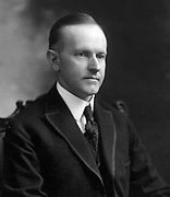 John Calvin Coolidge, Jr. (July 4, 1872 January 5, 1933) 30th President of the United States (1923–1929).  Photographed in 1919